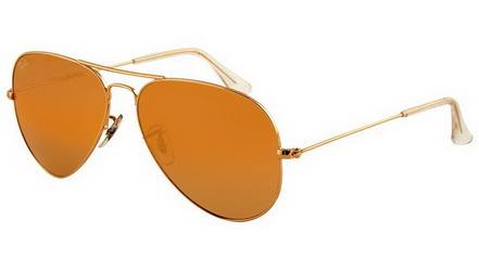 ray ban rb3025 aviator large metal 00157