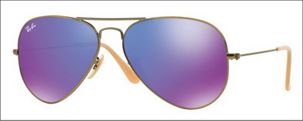 ray ban rb3025 aviator large metal 1671m