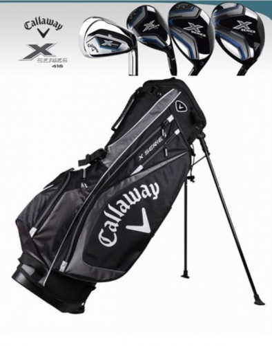 CALLAWAY X SERIES LEFT HANDED GRAPHITE